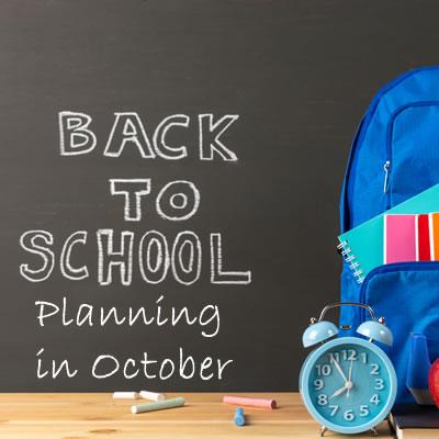Back to School October
